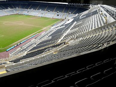 Newcastle United St James Stadium tour