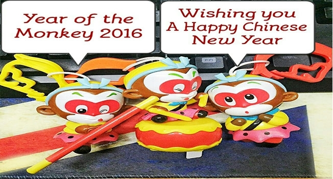 Chinese new year monkey whatsupcourtney