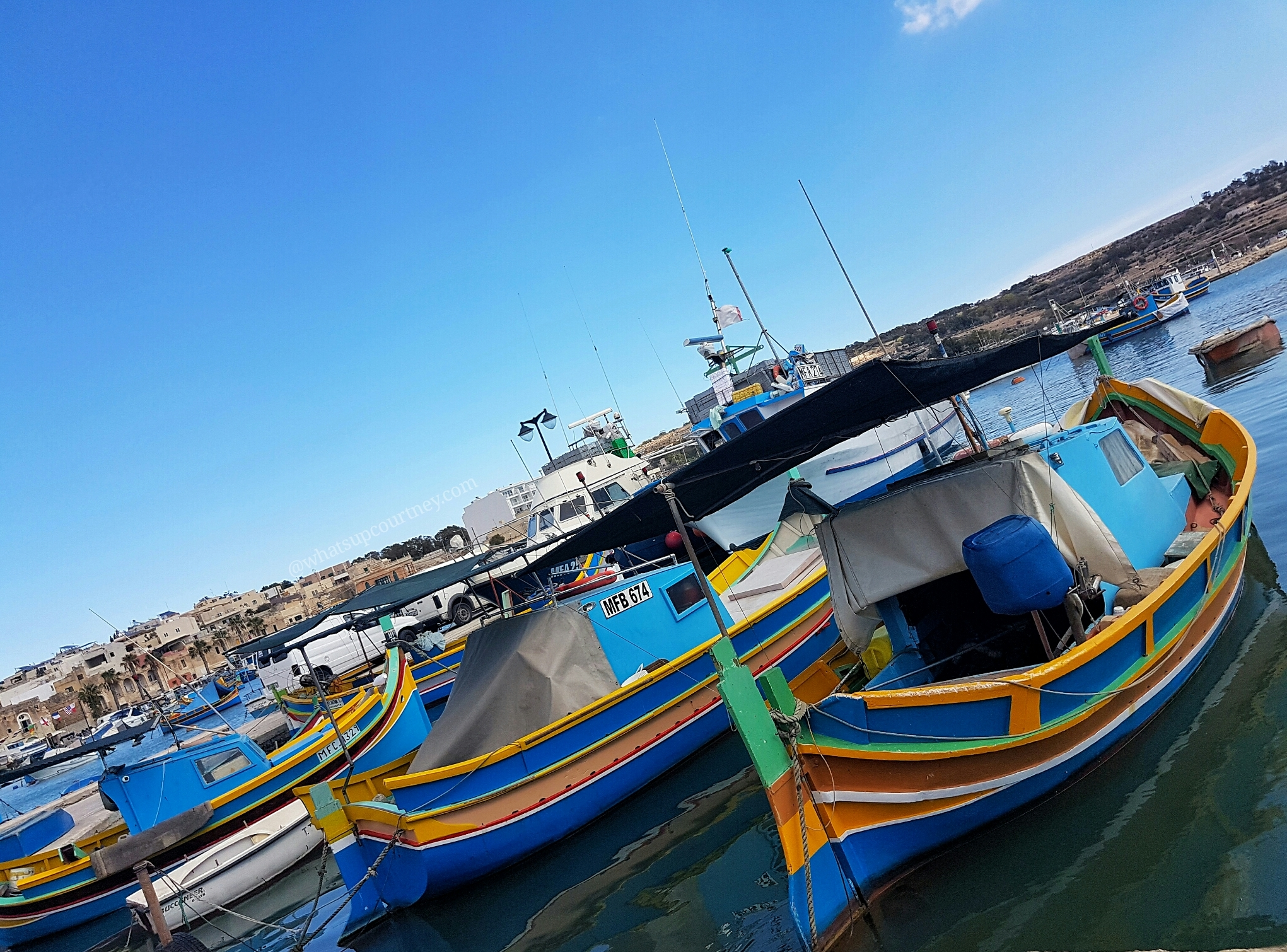 @www.whatsupcourtney.com Malta: Diving into Blue Grotto, Marsaxlokk and Ghar Dalam