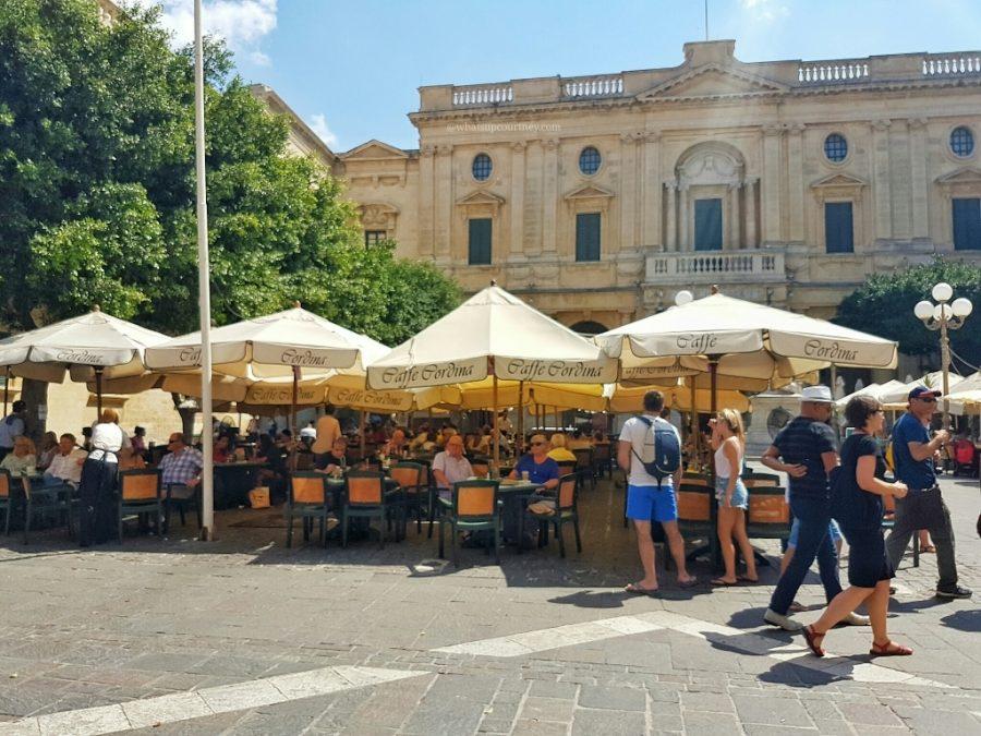 Malta Valletta Cordina Cafe (8)