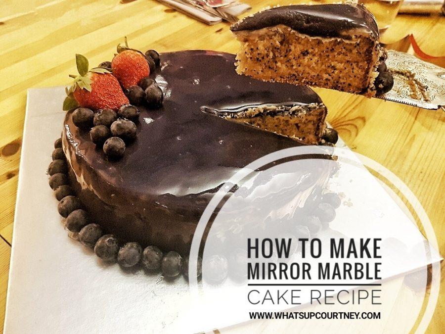 Xx Chocolate Marble Cake