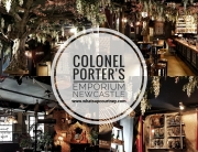 Instagrammable Sunday Roast in Colonel Porter's Emporium Newcastle