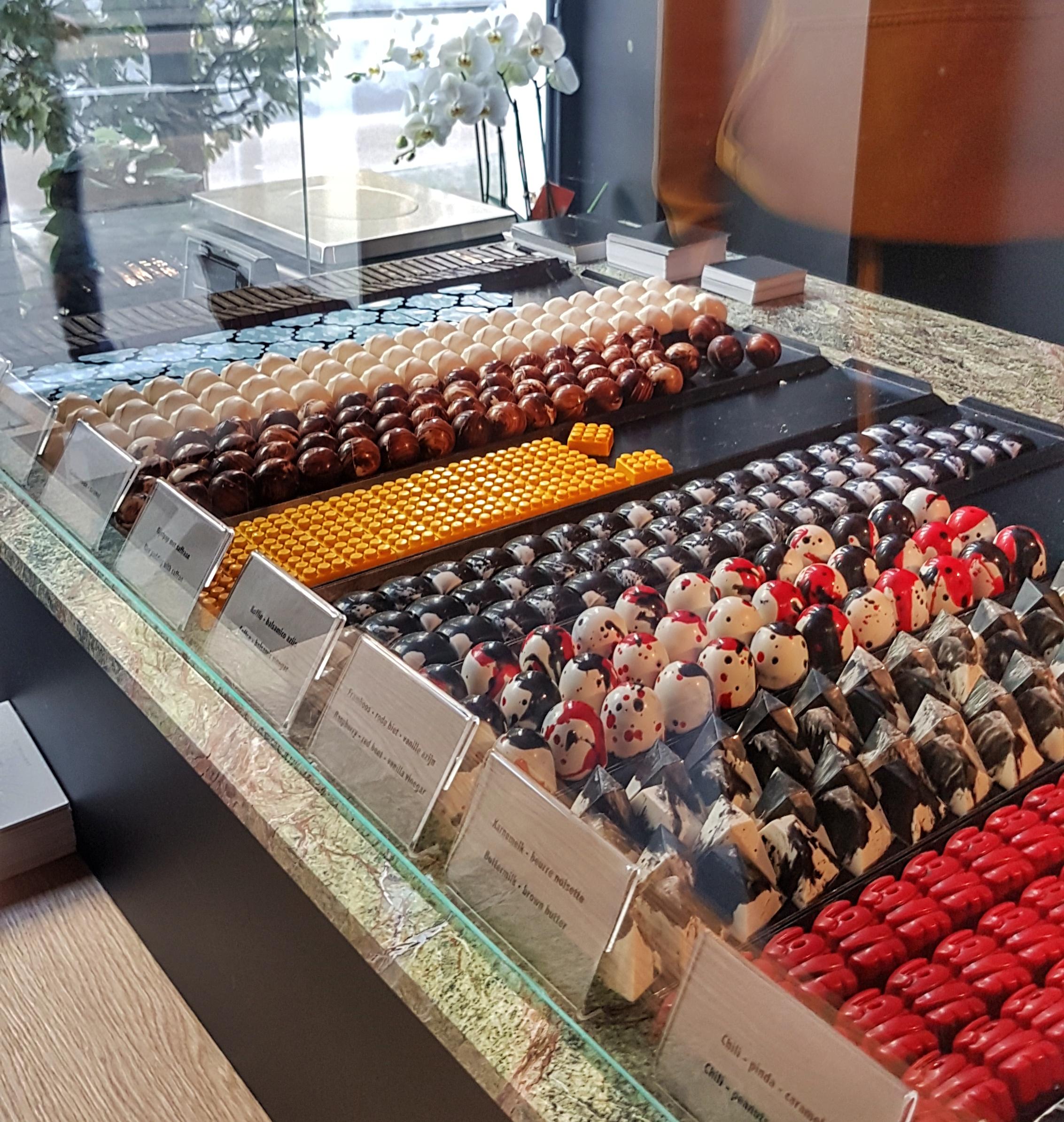 Bittersweet chocolates Leuven