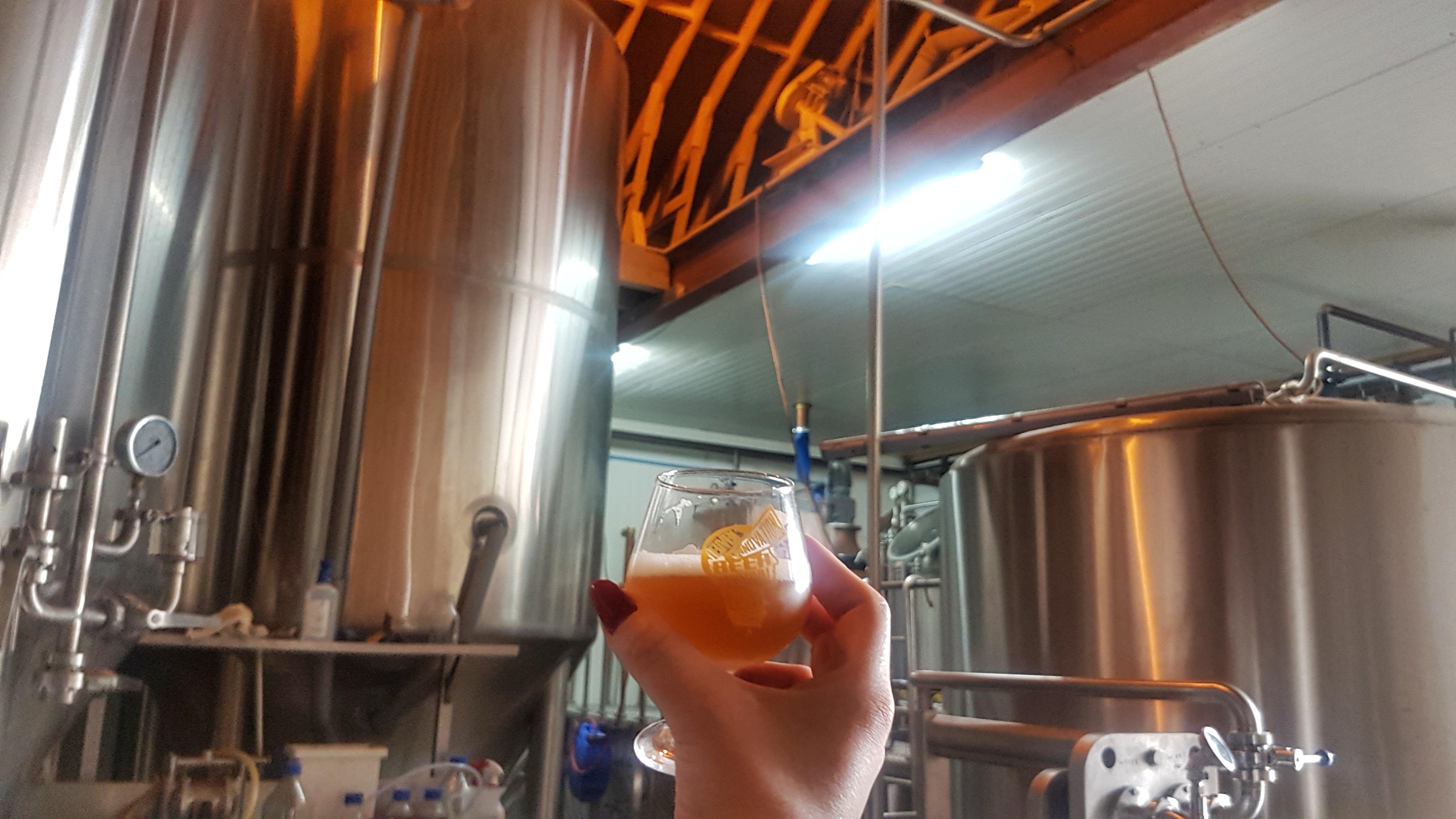 Hof Beer brewery tour Leuven