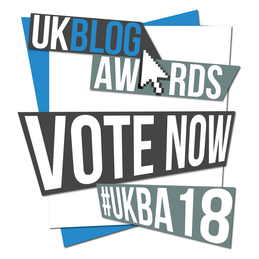 UK Blog Awards 2018 whatsupcourtney nomination