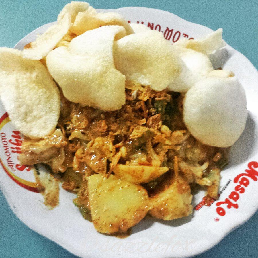 Indonesian Street Food Gado Gado -> www.whatsupcourtney.com