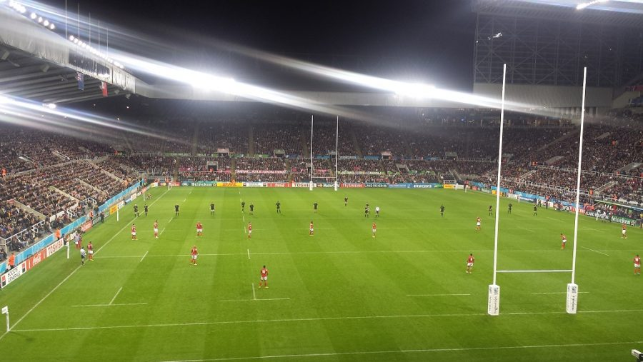 RUGBY WORLD CUP NEWCASTLE 2015 inside St James Stadium Newcastle