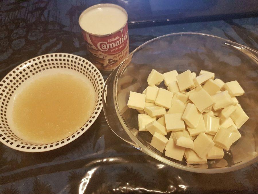 Mirror Marble cake glaze recipe
