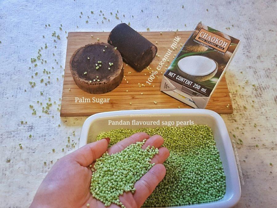 Sago Gula Melaka Vegan Recipe www.whatsupcourtney.com