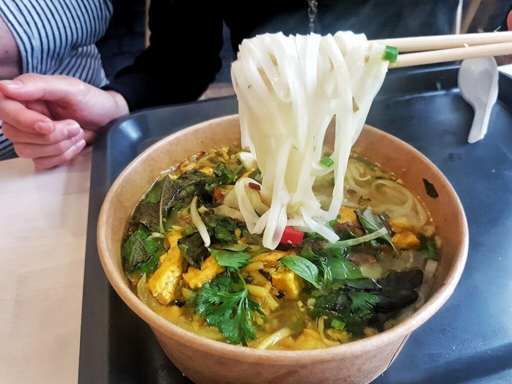 Time Banh Mi Vietnamese Newcastle Vegan Pho->www.whatsupcourtney.com #vietnamese #pho #vegan