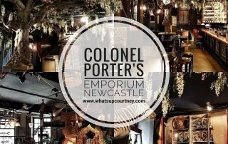 Instagrammable Sunday Roast in Colonel Porter's Emporium Newcastle -> www.whatsupcourtney.com