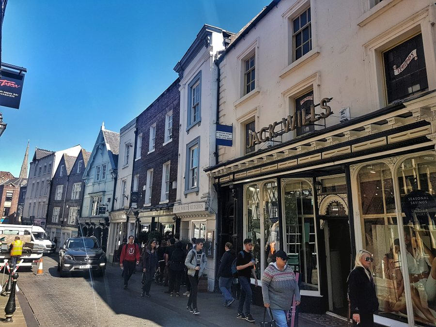 Durham highstreet shops - Your virtual guide to exploring the city of Durham UK . Come have a look! >>www.whatsupcourtney.com