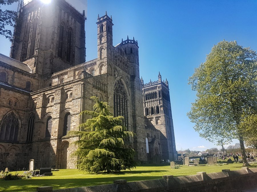 Durham Cathedral exterior 2017 -  Your virtual guide to exploring the city of Durham UK . Come have a look! >>www.whatsupcourtney.com