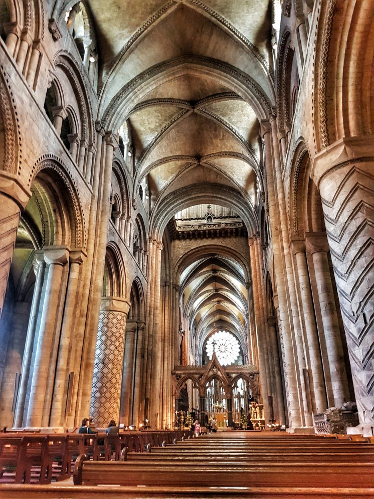 Inside the Durham Cathedral - Your virtual guide to exploring the city of Durham UK . Come have a look! >>www.whatsupcourtney.com