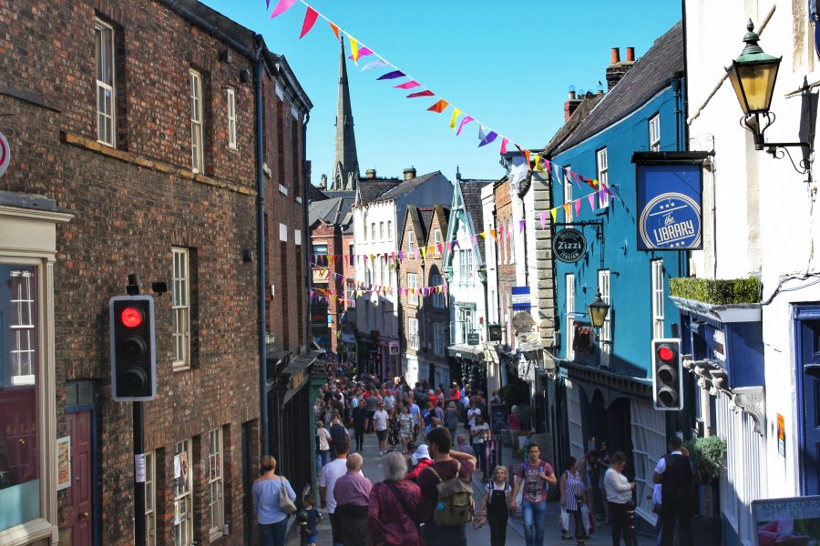 Durham Highstreet viewpoint- Your virtual guide to exploring the city of Durham UK . Come have a look! >>www.whatsupcourtney.com