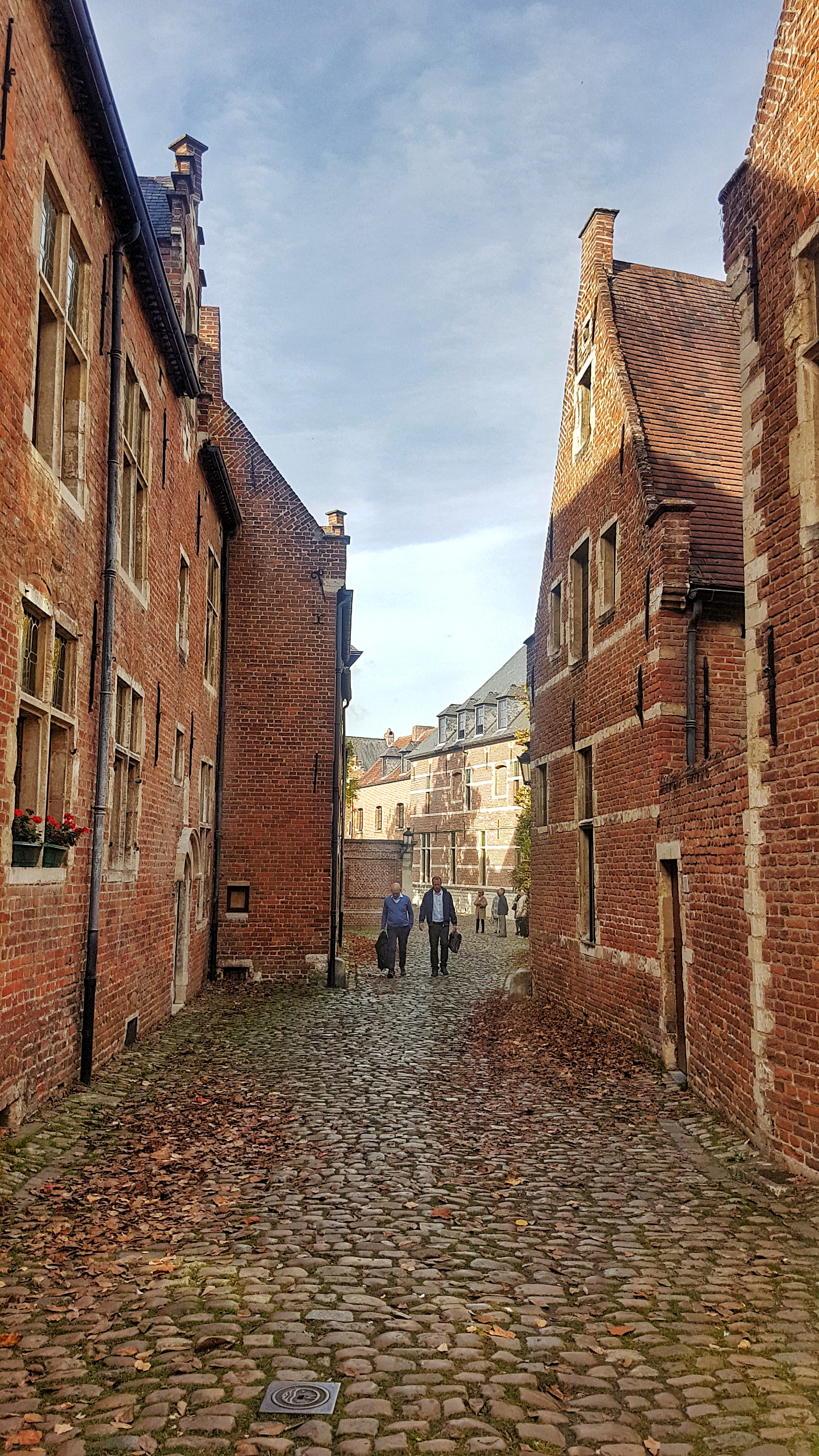 UNESCO heritage site of Groot Begijnhof in Leuven, read more about what you can do in Leuven in 48 hours at www.whatsupcourtney.com #Leuven #travel #travelguide