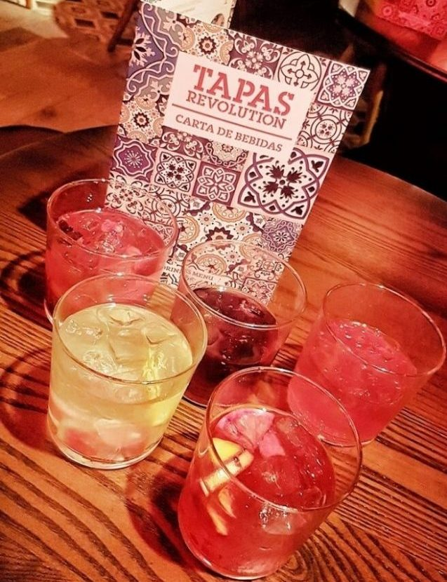 Newcastle Tapas Revolution Sangria bar ->www.whatsupcourtney.com #bar #sangria