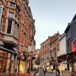 A street in Leuven. read more about the 12 alluring destinations for vegan travel www.whatsupcourtney.com #vegan