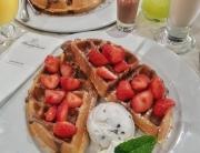 Heavenly Desserts Bradford -> www.whatsupcourtney.com #dessert #waffles #bradford #england