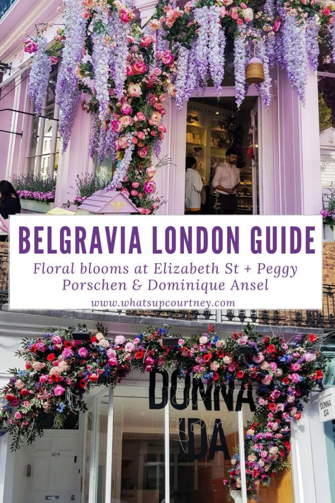 The reasons to visit Elizabeth St in Belgravia London, read more at www.whatsupcourtney.com #London #belgravia #londonguide #travel #travelguide