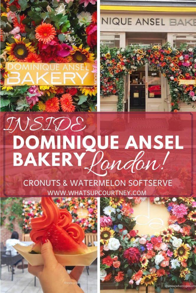 Dominique Ansel Bakery London Pinterest Heywhatsupcourtney
