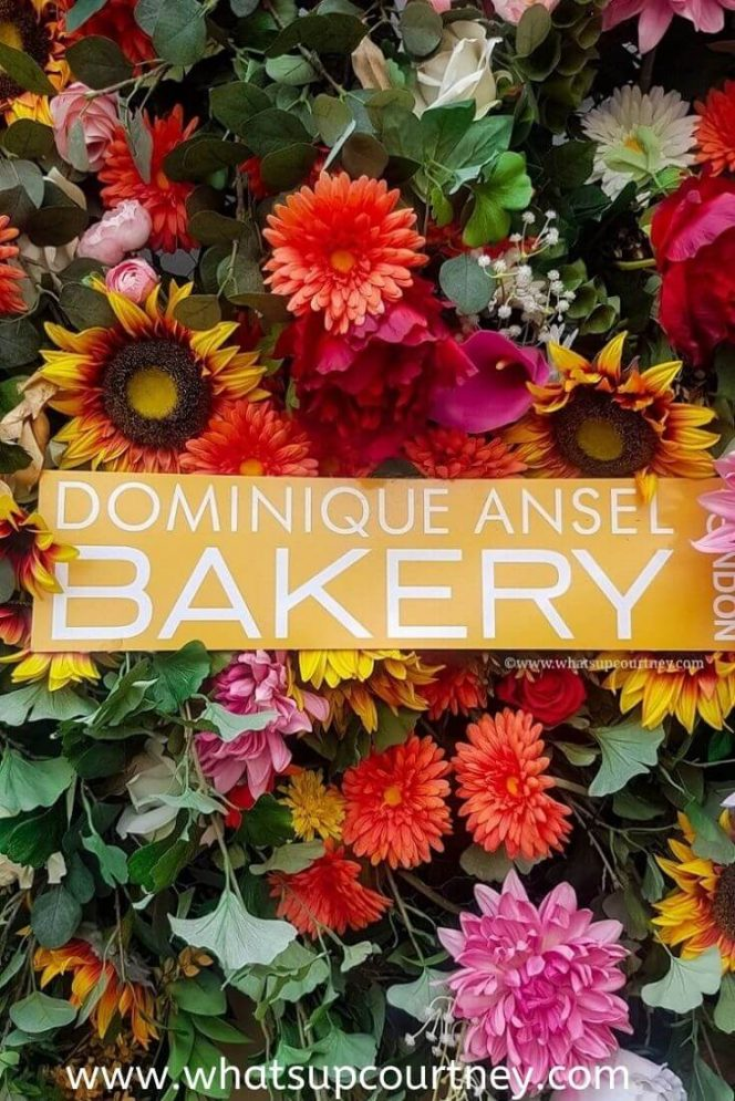 Dominique Ansel Bakery www.whatsupcourtney.com #london #cronuts #bakery