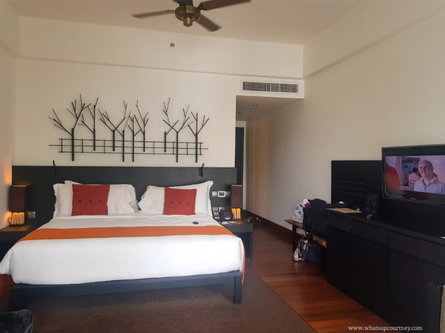 View of the basic room at the Andaman hotel | heywhatsupcourtney
