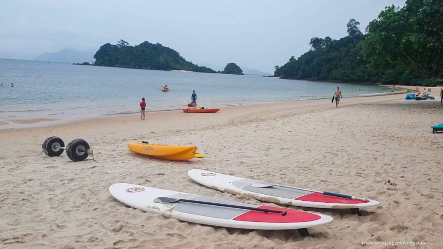 Beach and water activities at the Resort in Langkawi | heywhatsupcourtney