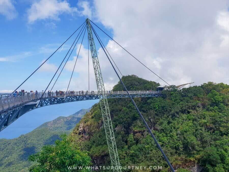 The famous Langkawi Sky Bridge | heywhatsupcourtney
