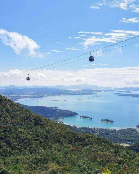 View of the Andaman sea from the Sky bridge | heywhatsupcourtney
