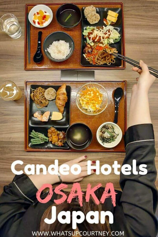 Candeo Hotels Osaka Namba Breakfast - a selection of Japanese and continental - read more at www.whatsupcourtney.com