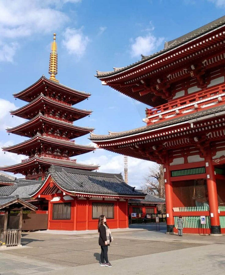 Sensoji Temple in Tokyo - Read more about Travel tips no one talks about at www.whatsupcourtney.com