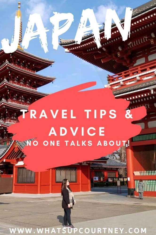 10 Japan travel tips and advice that no one talks about (Read before you go) - www.whatsupcourtney.com