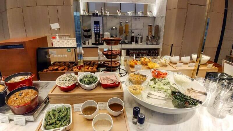 Japanese style breakfast plus a continental buffet breakfast - read more at www.whatsupcourtney.com