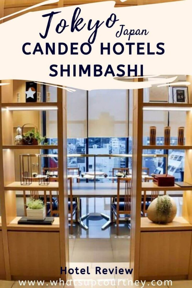 Candeo Hotels in Shimbashi is in central Tokyo with a Sky Spa- a modern rooftop ONSEN! read more at www.whatsupcourtney.com